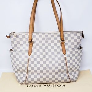100% Auth Louis Vuitton Totally MM Tote Bag